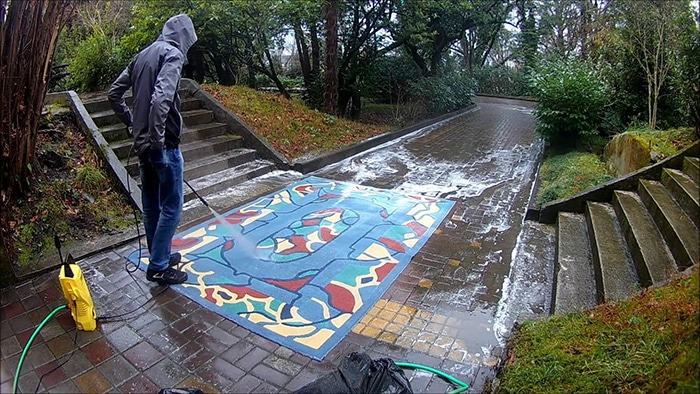 Способи очистити килим Керхером